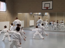 Cours de pré-karaté - Kata